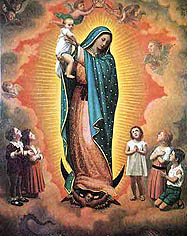 Chid prayer to mary