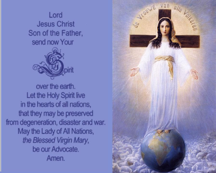 Lady of All Nations Prayer