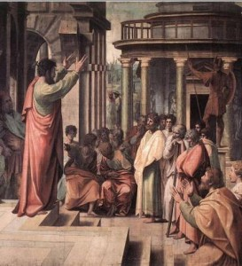 st paul preaching in athens